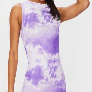 PrettyLittleThing Brand New Tie-Dye Dress